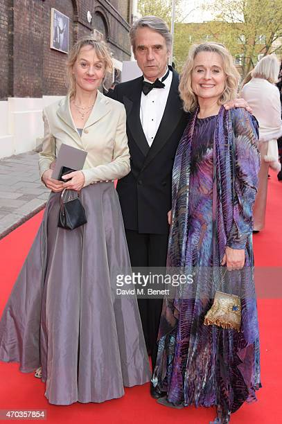 Niamh Cusack Jeremy Irons and Sinead Cusack arrive at The Old Vic for A Gala Celebration in Honour of Kevin Spacey as the artistic director's tenure...