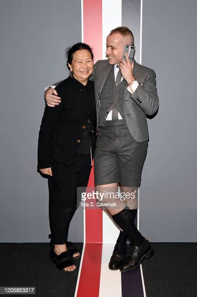 Nian Fish and Designer Thom Browne demonstrate the new Samsung Galaxy Z Flip Thom Browne Edition in a groundbreaking foldable smartphone experience...