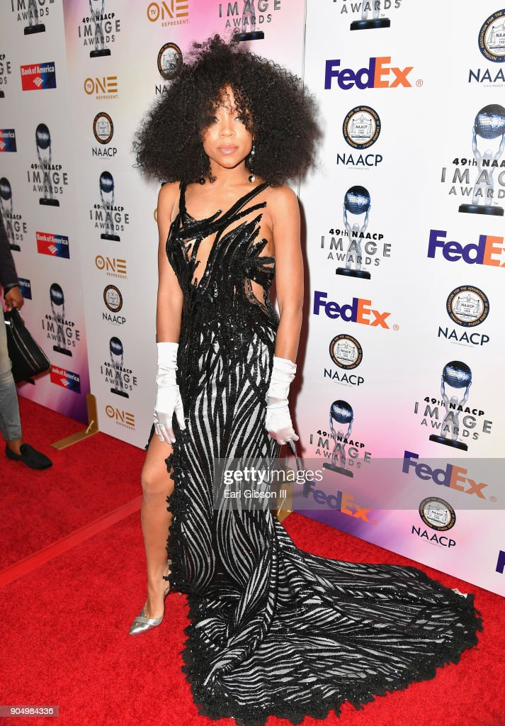 Niatia 'Lil' Mama' Kirkland at the 49th NAACP Image Awards Non-Televised Awards Dinner at the Pasadena Conference Center on January 14, 2018 in Pasadena, California.