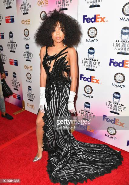 Niatia 'Lil' Mama' Kirkland at the 49th NAACP Image Awards NonTelevised Awards Dinner at the Pasadena Conference Center on January 14 2018 in...