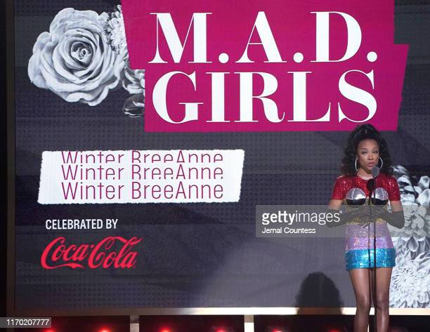 Niatia 'Lil Mama' Kirkland speaks onstage at Black Girls Rock 2019 Hosted By Niecy Nash at NJPAC on August 25 2019 in Newark New Jersey
