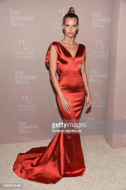 Nibar Madar and Richie Akiva attend Rihanna's 4th Annual Diamond Ball benefitting The Clara Lionel Foundation at Cipriani Wall Street on September 13...