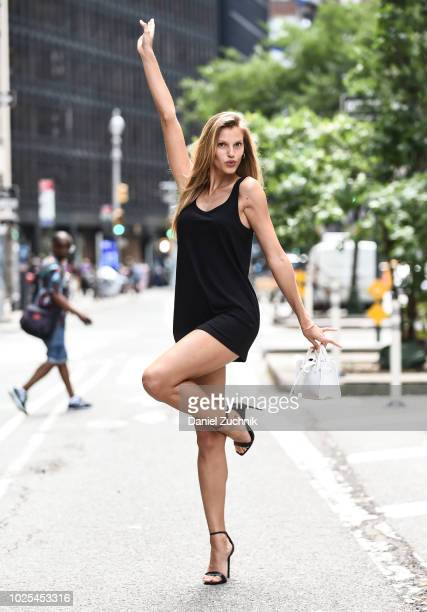 Nibar Madar attends the casting for the 2018 Victoria's Secret Fashion Show in Midtown on August 30 2018 in New York City