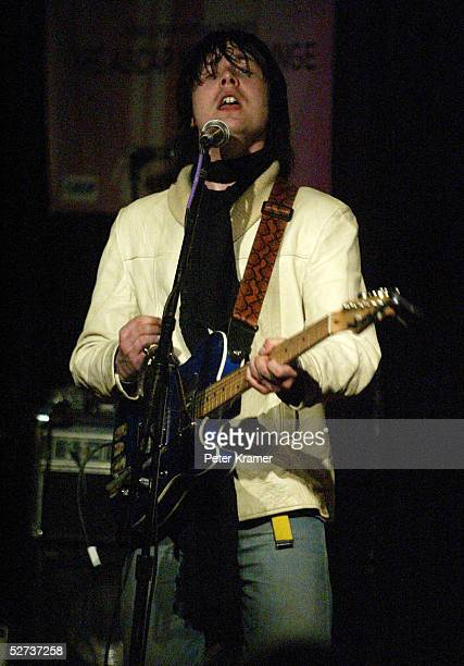 Nic Armstrong and the Thieve perform at The ASCAP Music Lounge at the Tribeca Film Festival April 29 2005 in New York City