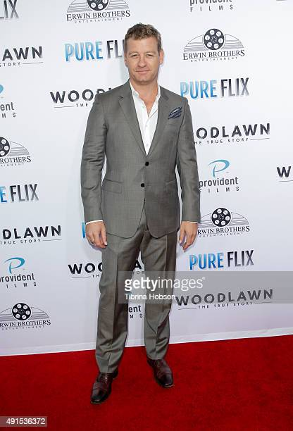 Nic Bishop attends the LA premiere of 'Woodlawn' at Regency Bruin Theater on October 5, 2015 in Westwood, California.