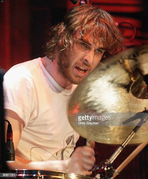 Nic Cester of Jet performs at the New Orleans House of Blues hosted by MTV2's 2$Bill Concert Series March 12 2004 in New Orleans LA Scheduled to air...