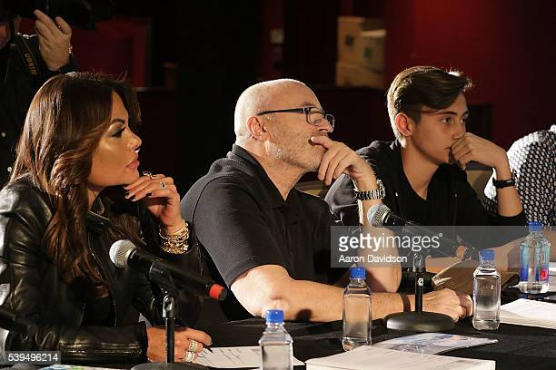 Nic Collins Phil Collins and Orianne Collins attend Little Dreams Foundation Annual Open Musical Auditions at Seminole Hard Rock Hotel on June 11...