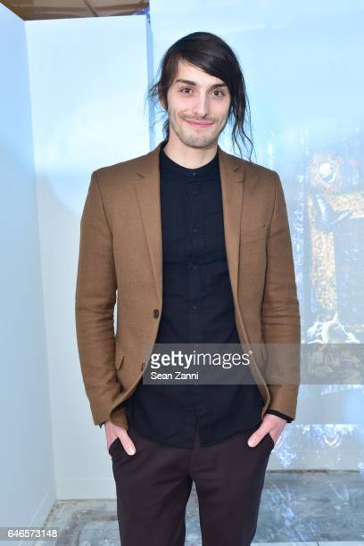 Nic Courdy attends Spring Break Art Fair 2017 Vernissage at 4 Times Square on February 28 2017 in New York City