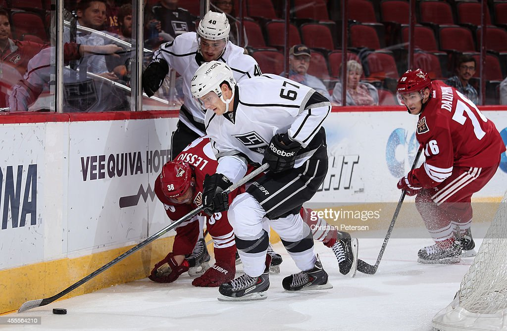 Arizona Coyotes Rookie Camp : News Photo