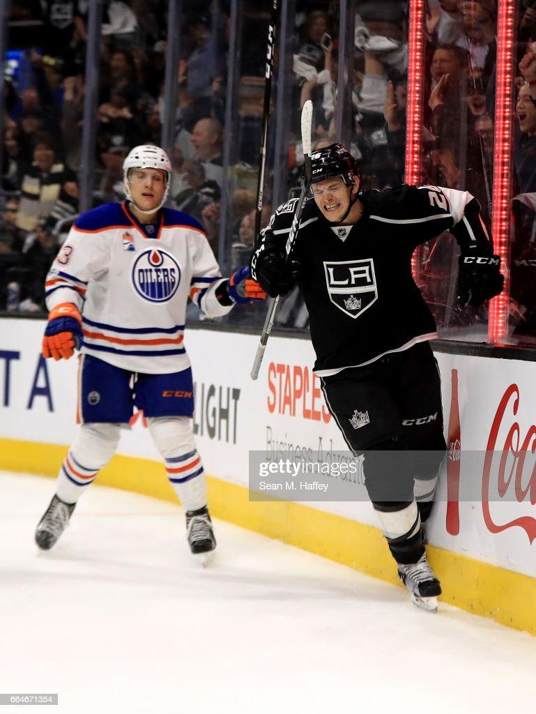 Edmonton Oilers v Los Angeles Kings