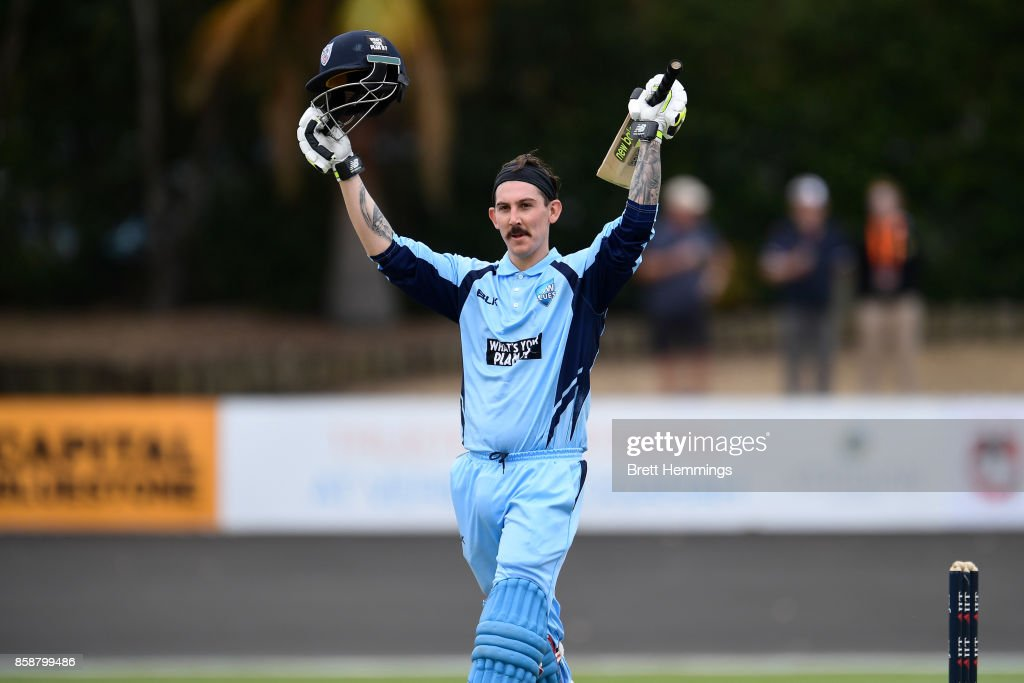 JLT One Day Cup - NSW v CAXI