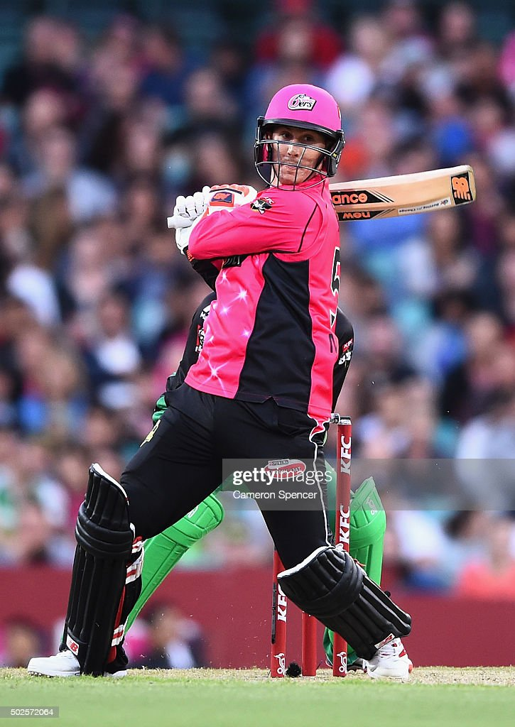 Big Bash League - Sydney Sixers v Melbourne Stars