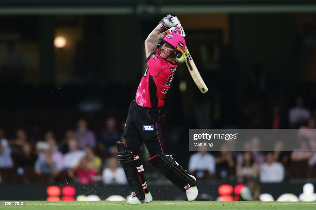 BBL - Sixers v Stars : News Photo
