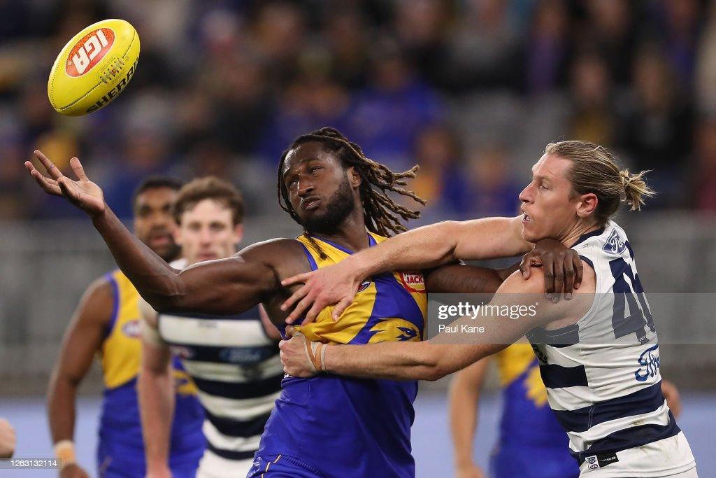 AFL Rd 9 - West Coast v Geelong : News Photo