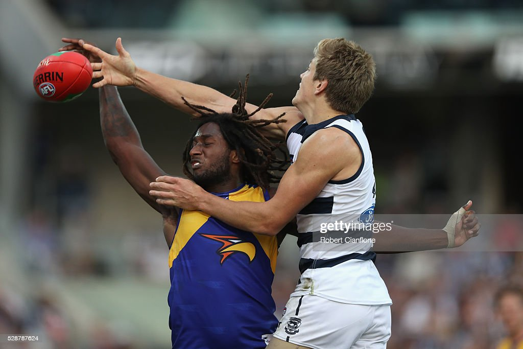 AFL Rd 7 - Geelong v West Coast