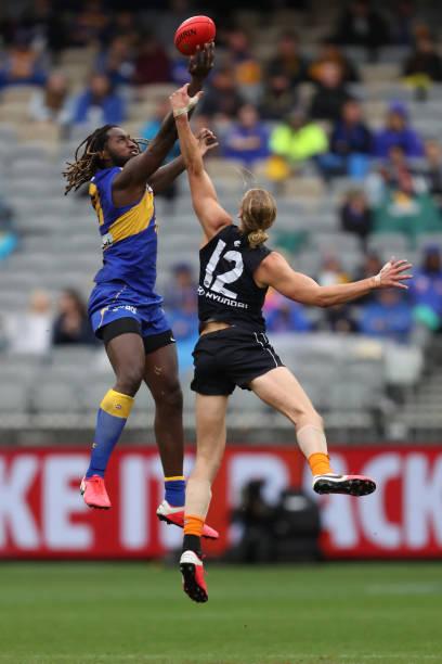 AUS: AFL Rd 11 - West Coast v Carlton