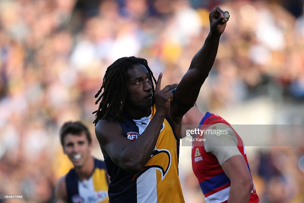 AFL Rd 21 - West Coast Eagles v Western Bulldogs