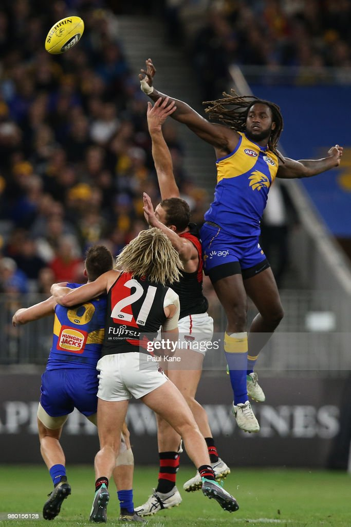 AFL Rd 14 - West Coast v Essendon