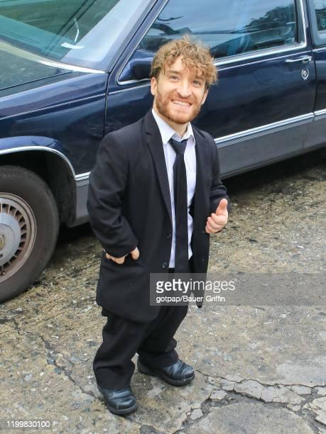 Nic Novicki is seen on February 09, 2020 in Los Angeles, California.