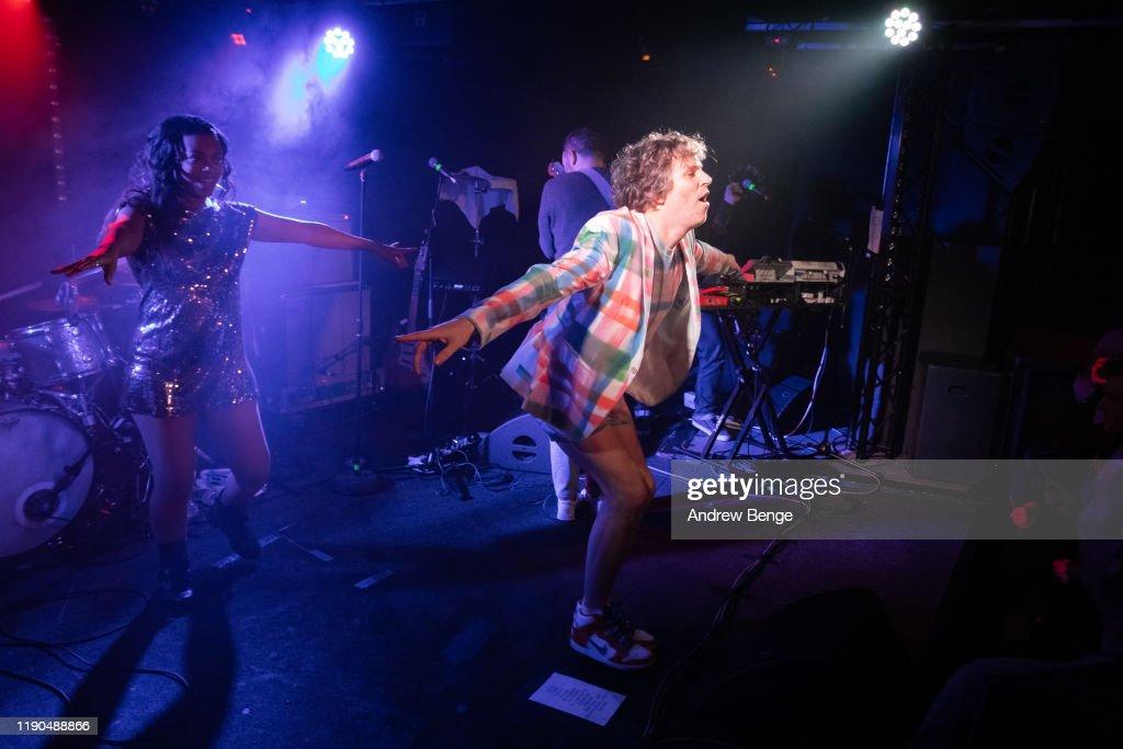 !!! Perform At The Wardrobe, Leeds : News Photo