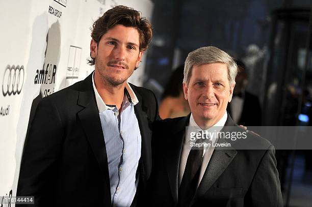 Nic Roldan and Larry Boland attends the 2nd Annual amfAR Inspiration Gala at The Museum of Modern Art on June 14 2011 in New York City