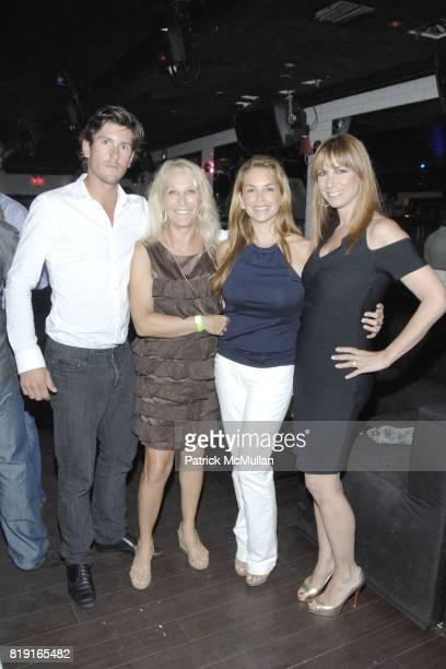 Nic Roldan Missy Lubliner Patti Grabel and Jill Zarin attend Nic Roldan Shamin Abas and Tracy Mourning Host Hamptons Social Series Dinner For St...