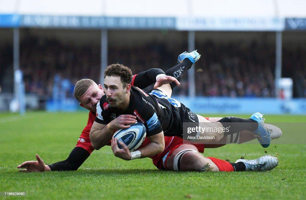 Exeter Chiefs v Saracens - Gallagher Premiership Rugby : ニュース写真