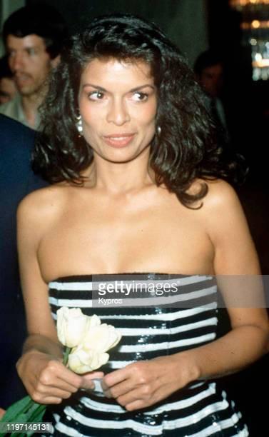 Nicagaraguan model Bianca Jagger, circa 1985.