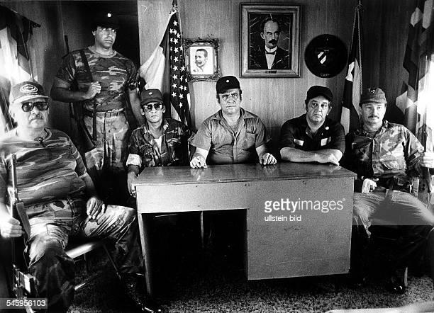 Nicaragua 'Contras' Paramilitärisches Trainingscamp derkonterrevolutionären 'Guardia Nacionalde Nicaragua' mit der kubanischen'Freedom Fighters Task...