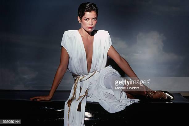 Nicaraguan actress and human rights activist Bianca Jagger.