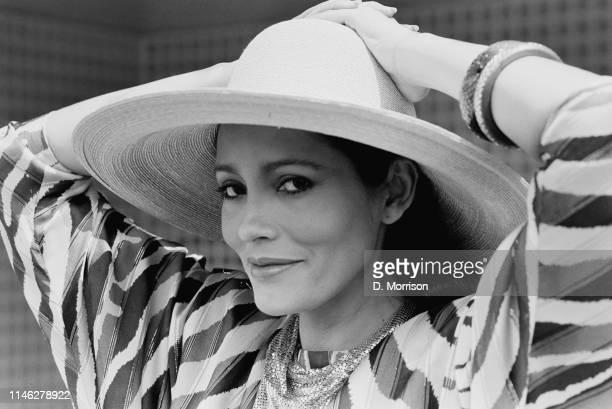 Nicaraguan American actress and fashion model Barbara Carrera, UK, 15th May 1984.