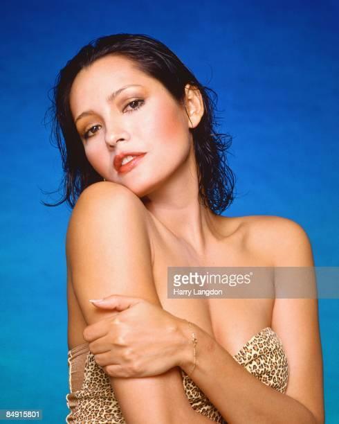 Nicaraguan born actress Barbara Carrera poses for a portrait circa 1985 in Los Angeles, California.