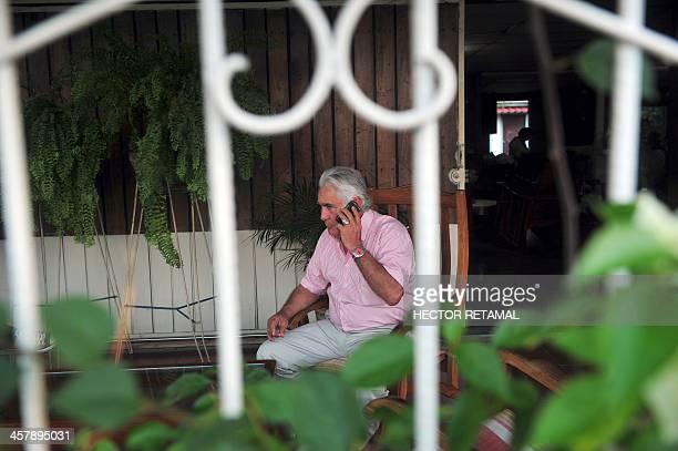Nicaraguan former guerrilla commander Eden Pastora alias Commander Zero at his house in Managua on October 25 2012 AFP PHOTO/Hector RETAMAL