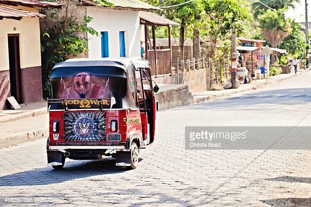 nicaraguan moto-taxi - mars roman god stock photos and pictures
