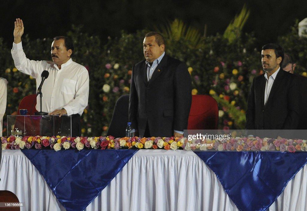 Daniel Ortega's Inauguration In Managua