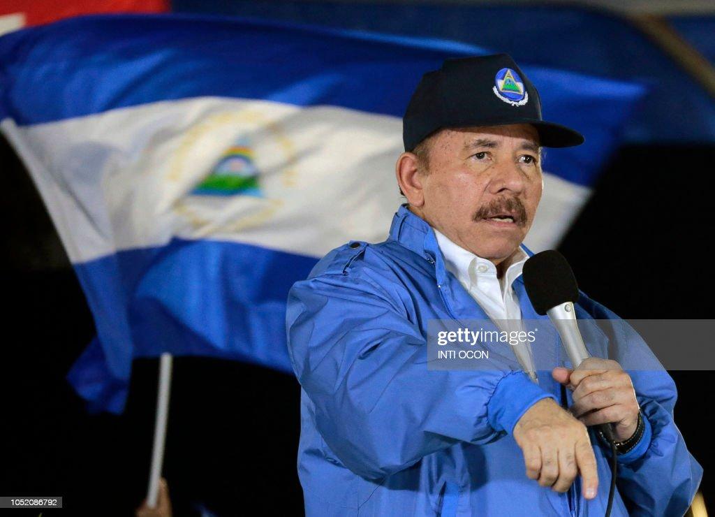 NICARAGUA-EL SALVADOR-POLITICS-RELIGION-CANONIZATION-ROMERO : News Photo