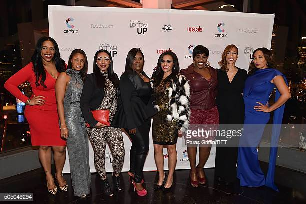 Nicci Gilbert Luchia Ashe Kim Smedley Sara Stokes Kelly Price Christine Beatty and Chrystale Wilson attend From the Bottom Up Presented by Centric at...