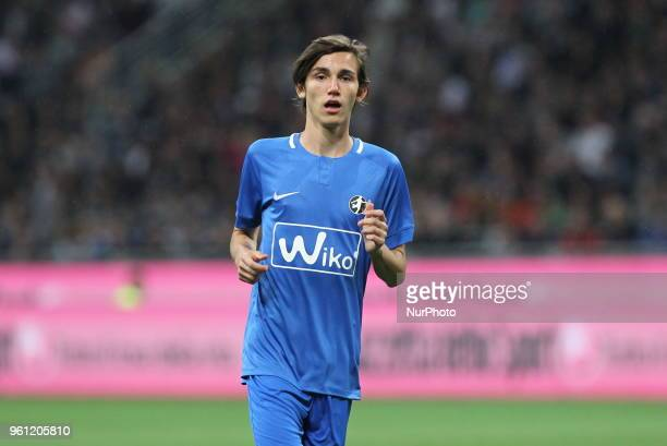 Niccol Pirlo during quotLa partita del Maestroquot the farewell match by Andrea Pirlo at Giuseppe Meazza stadium on May 21 2018 in Milan Italy