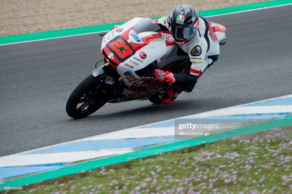 Moto2 & Moto3 Tests In Jerez