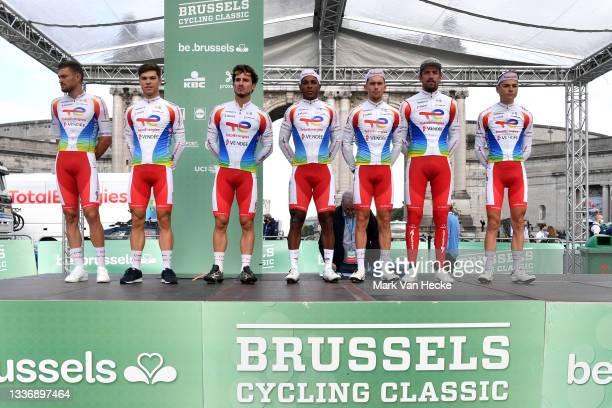 Niccolo Bonifazio of Italy, Damien Gaudin of France, Thomas Bonnet of France, Lorrenzo Manzin of France, Emilien Jeanniere of France, Adrien Petit of...
