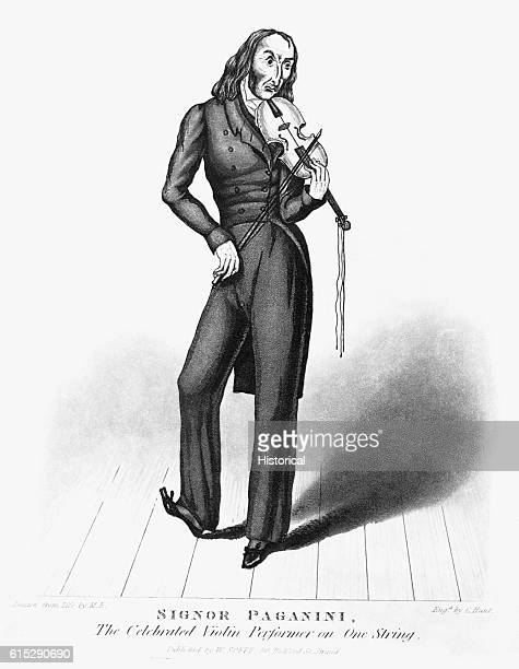 Niccolo Paganini 17821840 Italian violinist and composer
