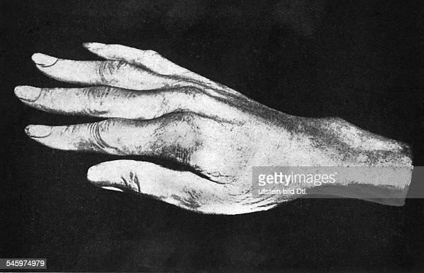 Niccolo Paganini *2710178227051840Violinvirtuose Komponist Italien seine rechte Hand