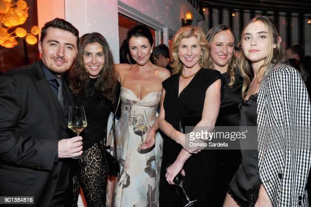 Niccolo Ragazzoni Gillian Wynn Julia Fitzroy Kevyn Wynn Nicole Ruvo and Marlowe Earlyattend W Magazine's Celebration of its 'Best Performances'...