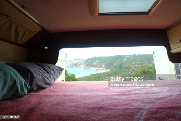 Nice bedroom in camper