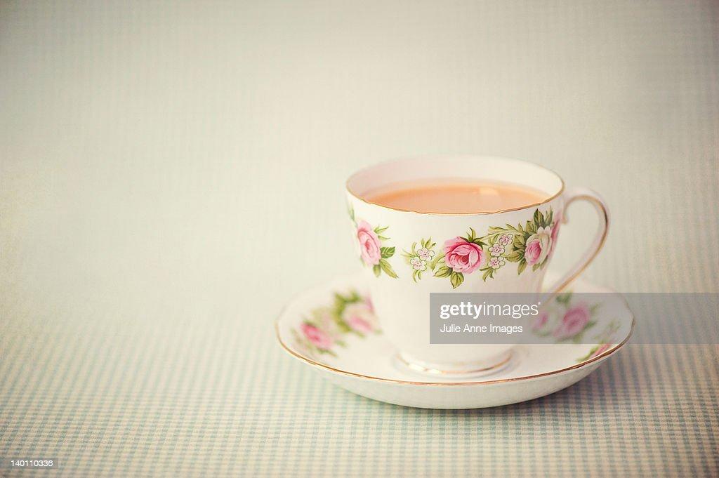 Nice cup of tea : Stockfoto