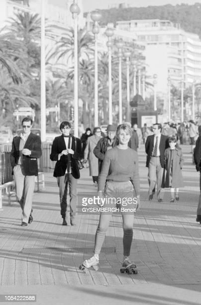 Nice France janvier 1982 Sabrina BELLEVAL Miss Côte d'Azur 1981 a été élue Miss France fin décembre 1981 à l'hôtel PLM SaintJacques Après avoir...