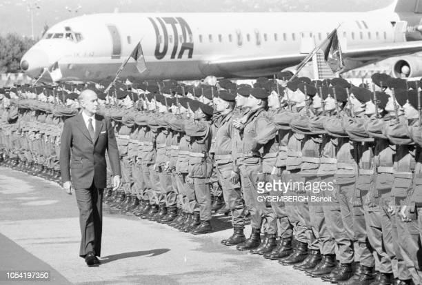 """Nice, France, mai 1980 --- 7e Sommet Afrique-France sur le thème """"économie, développement et coopération"""". Valéry GISCARD D'ESTAING, président de la..."""