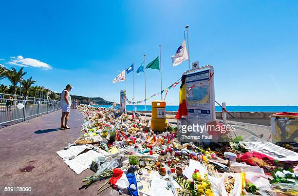 Nice, France Terrorist Attack Memorial Seafront