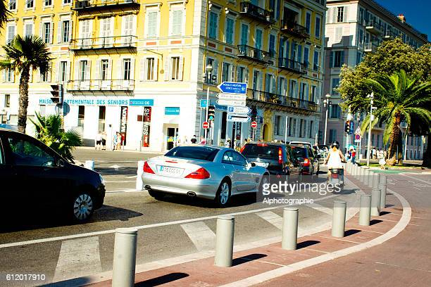 Nice France traffic