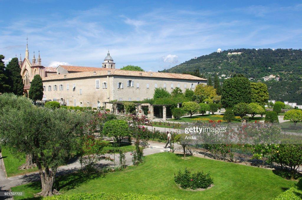 Cimiez Monastery. : News Photo